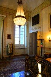 Venetian room details Villa Durazzo