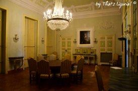 dining room Villa Durazzo