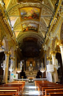 san giacomo church interiors