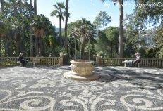 view on the Villa Durazzo garden