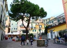 square of historical centre Arenzano