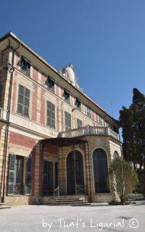 villa saluzzo in Genova Nervi