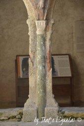 original column cloiser San Fruttuoso