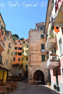 historical centre in Lerici