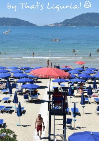 private beach Lerici