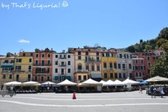 square in the town centre Lerici