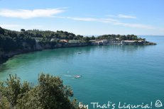 view on bay of Lerici