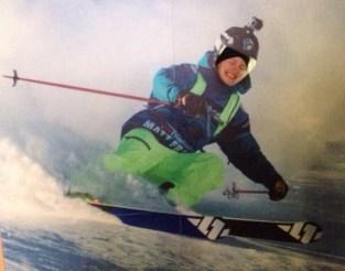 That's Liguria skiing