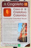 explanation of Columbus House in Cogoleto