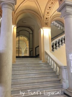 Hotel Columbia stairs