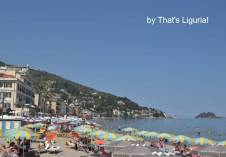 sandy beach Alassio