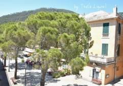 Bonassola centre of the hamlet
