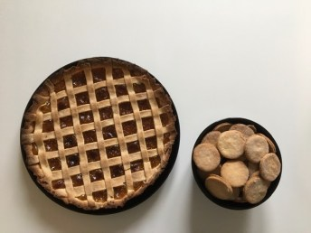 biscuites and crostata
