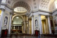 interiors of San Maurizio church