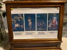 descriptions of paintings in San Michele church