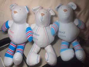 Hospital Blanket Bears