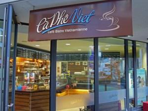 Vietnamese Coffee shop and restaurant, Hamburg Germany