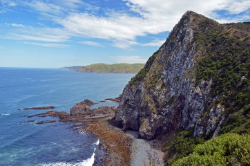 Beautifully rugged coastline
