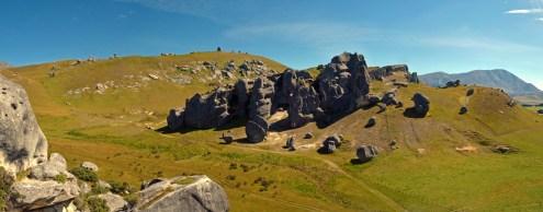 Amazing Rock Formation Panorama