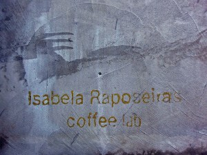Isabela Raposeiras Coffee Lab