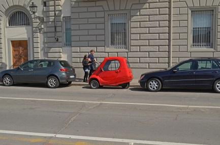 Smaller than a SMART car.