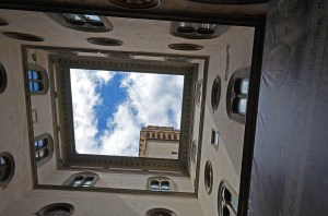 Looking UP at the tower