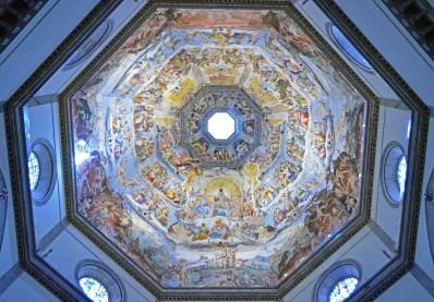 Closeup of Dome, Santa Maria Del Foire