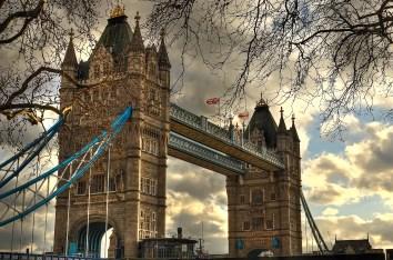 The Tower Bridge, London, UK
