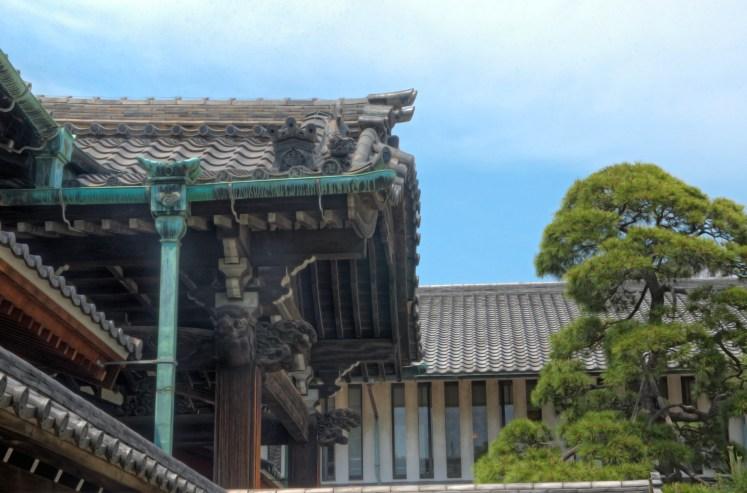 Temple Roof, Tokyo, Japan