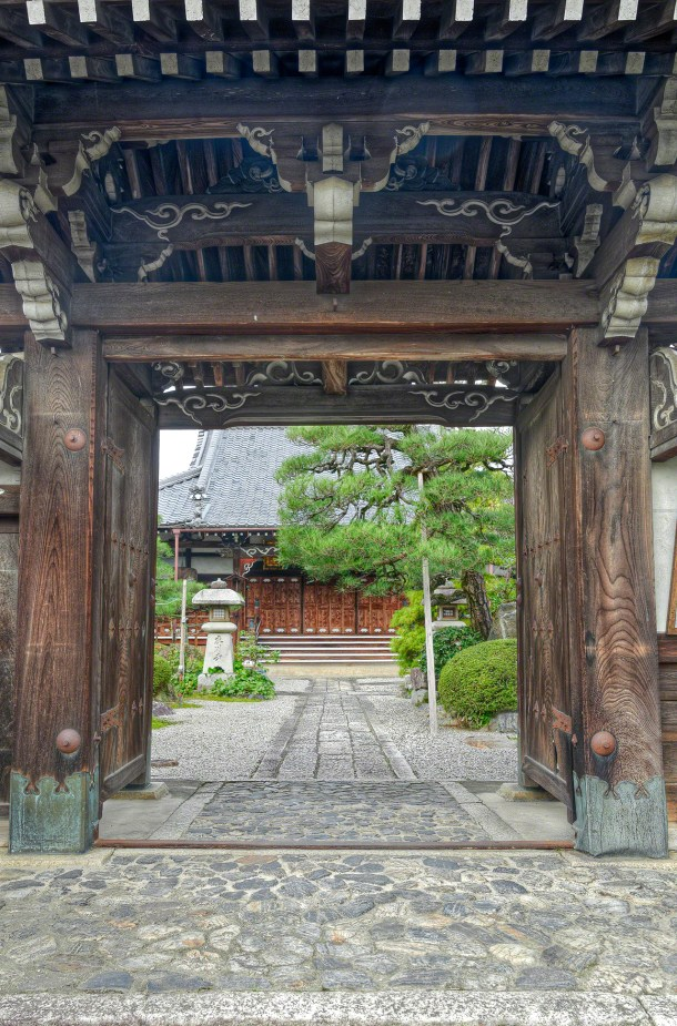 Temple Entrance, Otsu, Japan