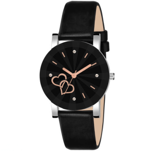 Two heart Unique analog Watch