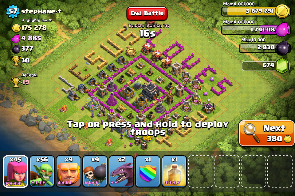 clash of clans bases town hall 6