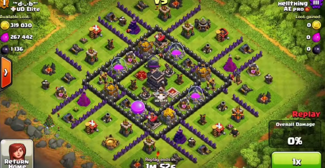 Best Clash Of Clans Town Hall Level 9 Defense Base Design 2