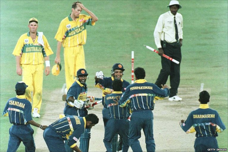 Sri Lanka 1996- Top 10 world cup performances - Thats My Top 10