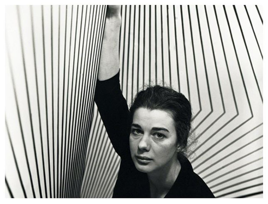 Wearing Stripes Bridget Riley And The Seaside
