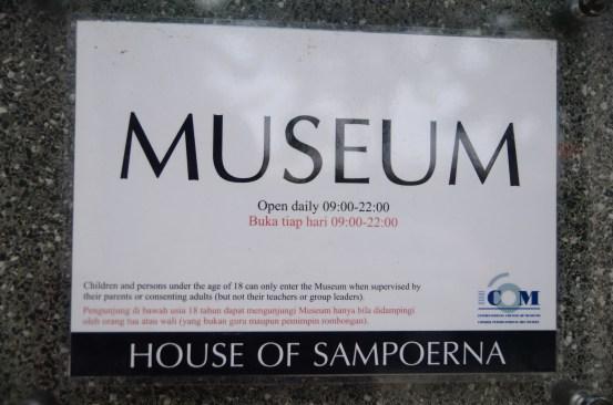 Sampoerna, the Museum