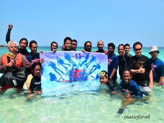 Start in Tioman 2013