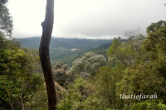 Bukit Teresek from first view point