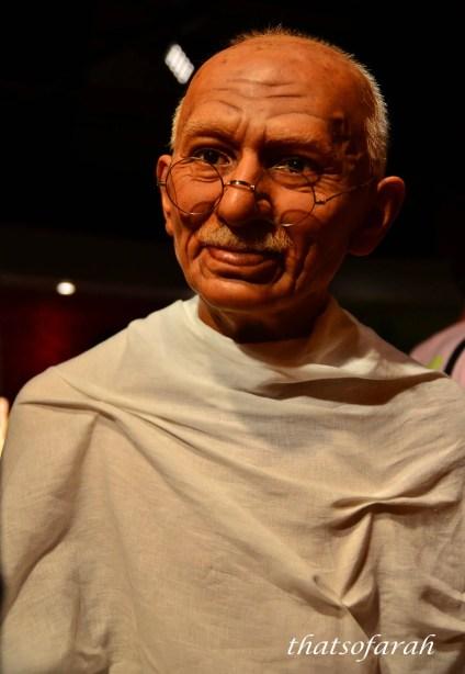 Mahatma Ghandi Wax Model