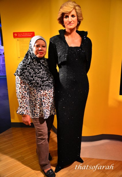 Lady Diana Madame Tussauds Bangkok