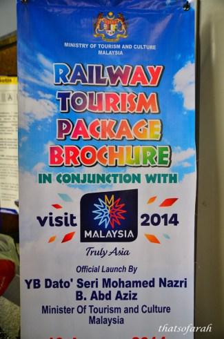 Railway Tourism Package Brochure