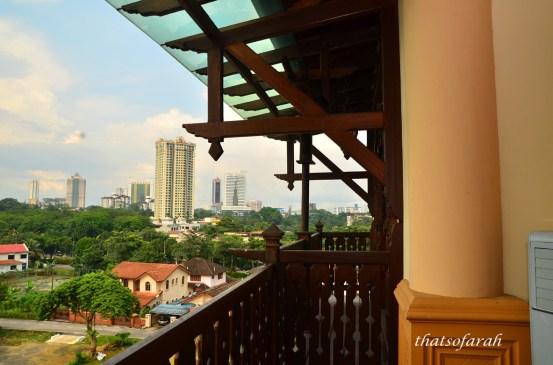 View from Villa Warisan