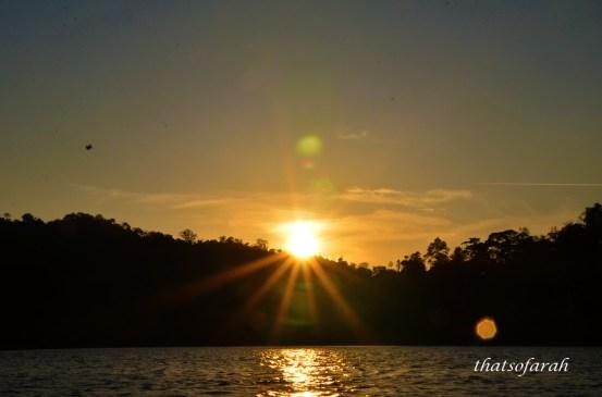 Royal Belum Sunset