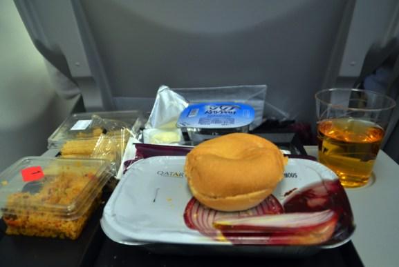 Qatar Airways In-flight Meal