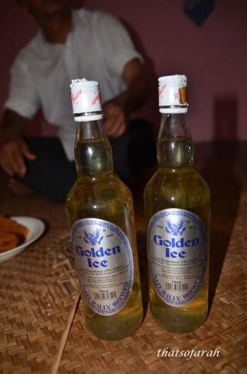 Tuak or Rice Wine