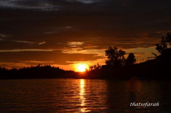 Sunset Sg Salak