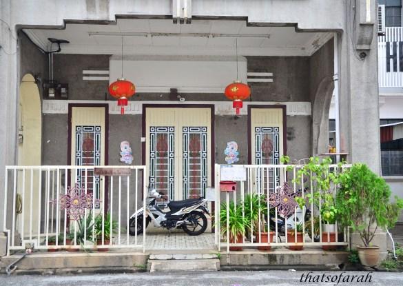 Heritage building Muntri Street