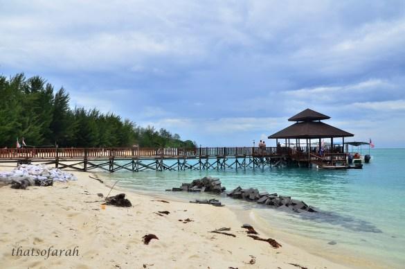 Palm Beach, Mantanani Island