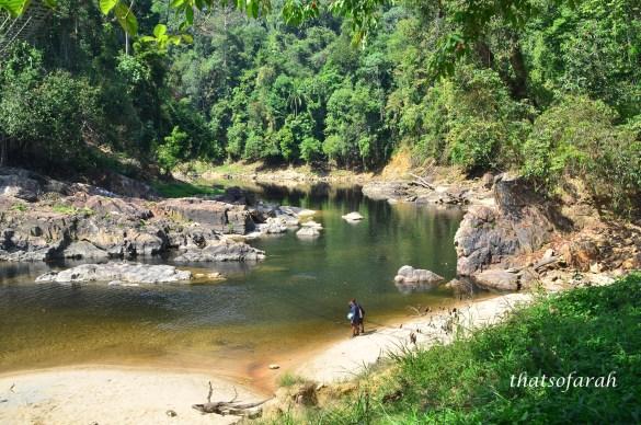 Santuari Kelah Sungai Petang, Tasik Kenyir