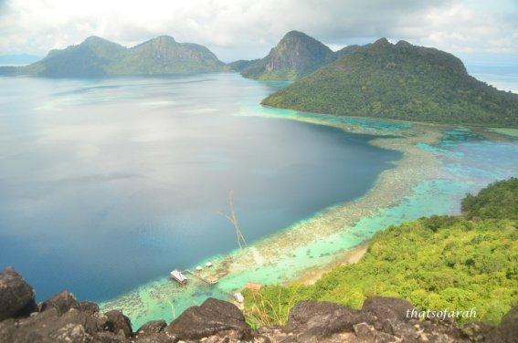Bohey Dulang Island, Sabah